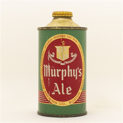Murphys Ale Low Profile Cone Top Beer Can