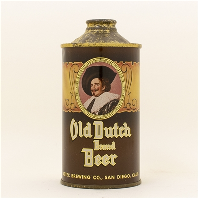 Old Dutch Beer Aztec Low Profile Cone Top Can