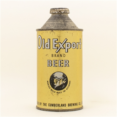 Old Export Beer Cone Top Can