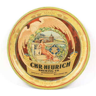 Chr. Heurich Brewing Low Profile Beer Tray