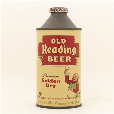 Old Reading Beer Gus Cone Top Can