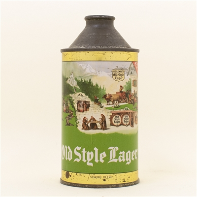Old Style Lager Beer Cone Top Can