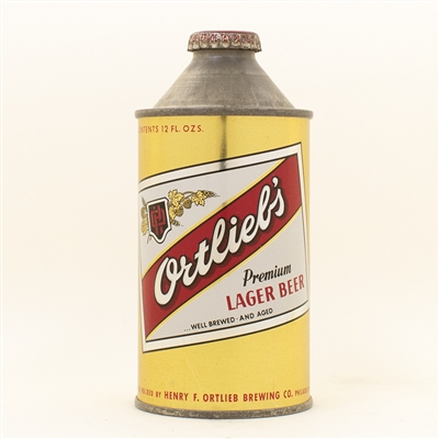 Ortliebs Beer Cone top Beer Can