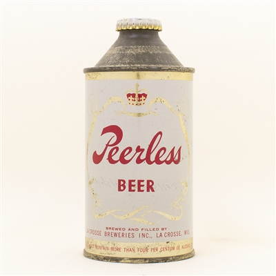 Peerless Beer Cone Top Can