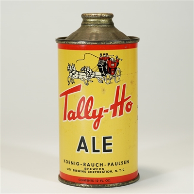 Tally-Ho ALE Cone Top Beer Can