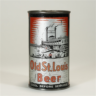 Old St. Louis Beer Instructional Can