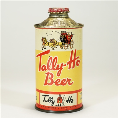 Tally-Ho Beer Cone Top Can