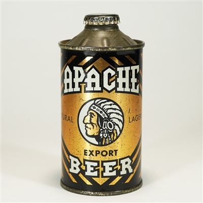 Apache Export Beer Cone Top Can