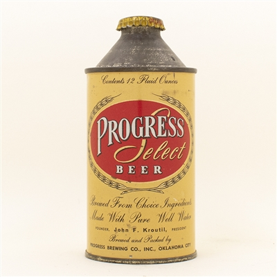 Progress Select Beer Cone Top Can
