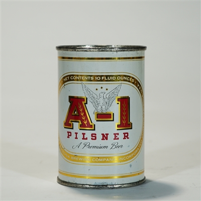 A-1 Pilsner 10oz Flat Top Can