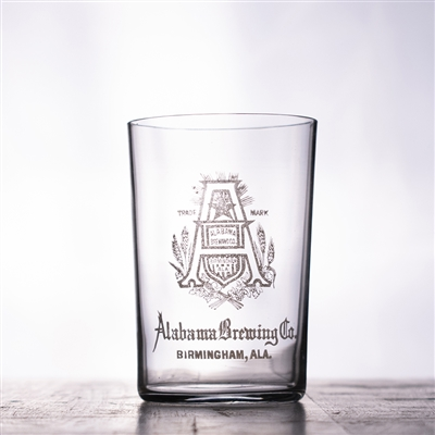Alabama Brewing Pre-Pro Etched Drinking Glass