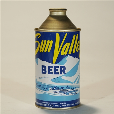 Sun Valley Beer Cone Top Can MINTY