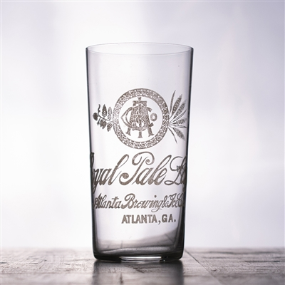 Atlanta Brewing Royal Pale Pre-Pro Etched Drinking Glass