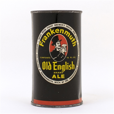 Frankenmuth Old English Ale Flat Top Can 66-22