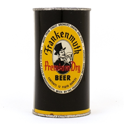 Frankenmuth Premium Dry Beer Flat Top Can 66-27