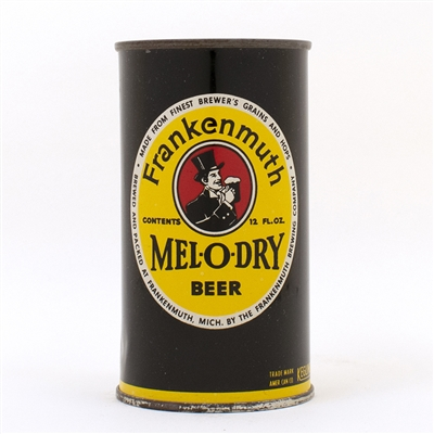 Frankenmuth Mel-O-Dry Beer Flat Top Can 66-30