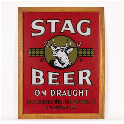 Stag Beer Griesedieck Western Brewery RPG Sign