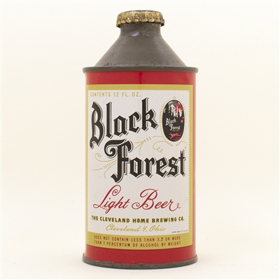 Black Forest Beer Cone Top Can