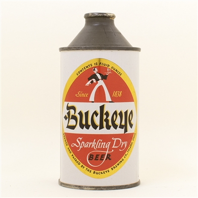 Buckeye Beer Cone Top Can