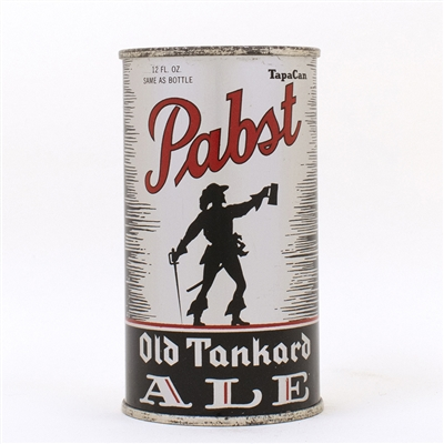 Pabst Old Tankard Ale Flat Top Can