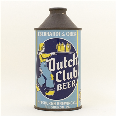 Dutch Club Beer Eberhardt Ober Cone Top Can