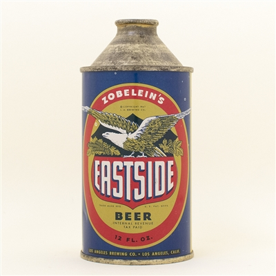 Eastside Zobeleins Cone Top Beer Can
