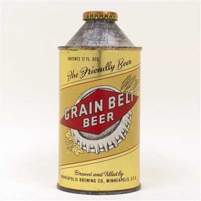 Grain Belt Beer Cone Top 167-04