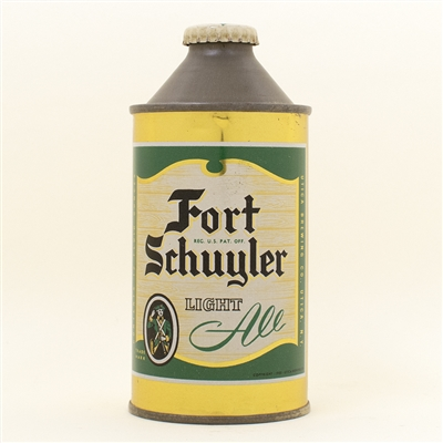 Fort Schuyler Ale Cone Top Beer Can