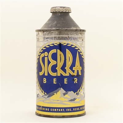 Sierra Beer Cone Top Can