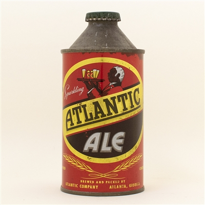 Atlantic Ale Cone Top Beer Can