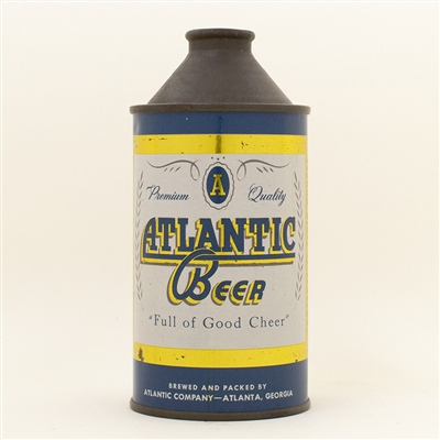 Atlantic Beer Cone Top Can