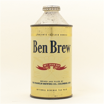 Ben Brew Beer Cone Top Can
