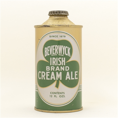 Beverwyck Irish Cream Ale Cone Top