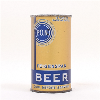 Feigenspan PON Beer Long OI WFIR Flat UNLISTED