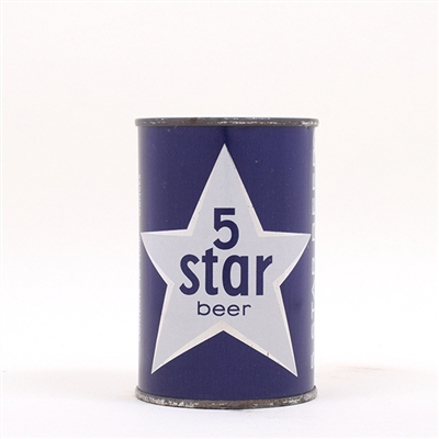Five Star Beer 10 oz Can 64-21