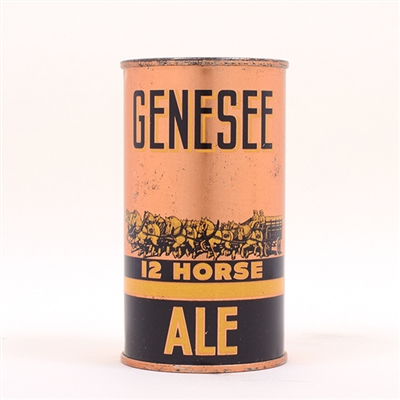 Genesee 12 Horse Ale OI IRTP Flat Top 68-17
