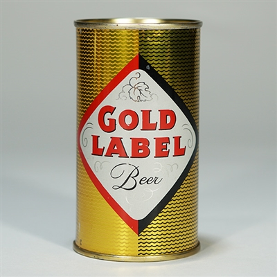 Gold Label Beer Can Walter Brewing 72-1