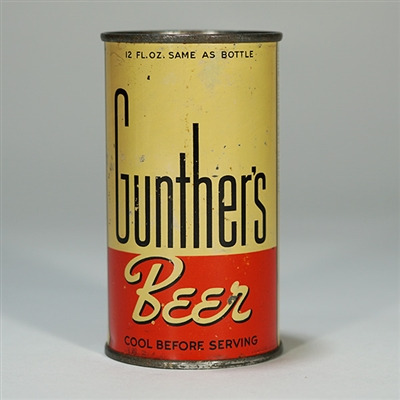 Gunthers Beer Instructional 78-18