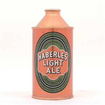 Haberles Light Ale Cone Top SWEET 168-12