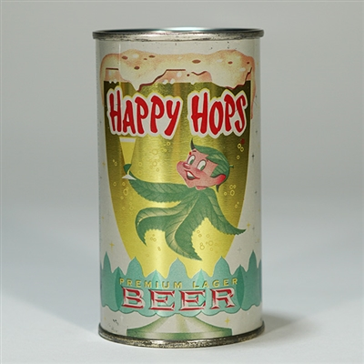 Happy Hops Lager Beer Can 80-15