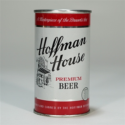 Hoffman House Beer Can SILVER 82-31
