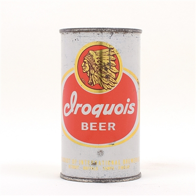 Iroquois Beer Nartive American Flat Top 86-2