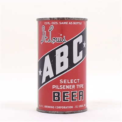 ABC Beer OI Flat Top WIDE LETTERS 28-9
