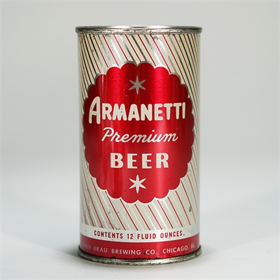 Armanetti Flat Top Beer Can 31-39